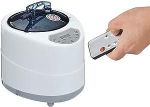 SEAAN Portable Sauna Steamer Body Steamer Sauna Home SPA Shower with Remote Control 1000W 110V 2.6 Liters