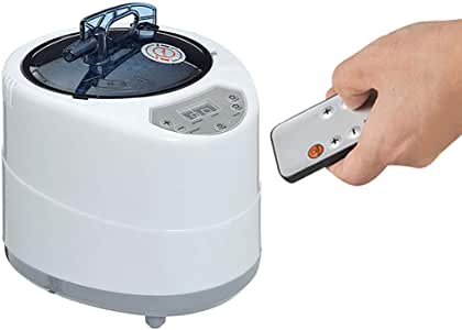 Vogvigo 2.6 Liter Portable Sauna Steamer Pot, Generator for Steam Saunas,Suit Home SPA Shower, Machine for Body Detox Weight Loss