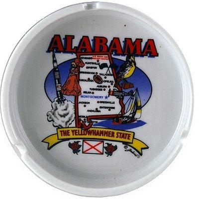 (Alabama Ashtray State Map )