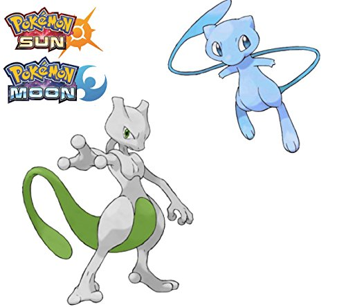 Pokemon Sun & Moon SHINY Mew & Mewtwo (Shiny Pokemon)