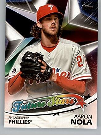 f96777e47da 2018 Topps Series Two Future Stars  FS-38 Aaron Nola Philadelphia Phillies