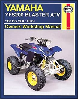 Yamaha YFS200 Blaster ATV 1988 - 2006 (Haynes Owners Workshop Manuals )