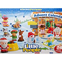 Calendario de Adviento de Little People de Fisher