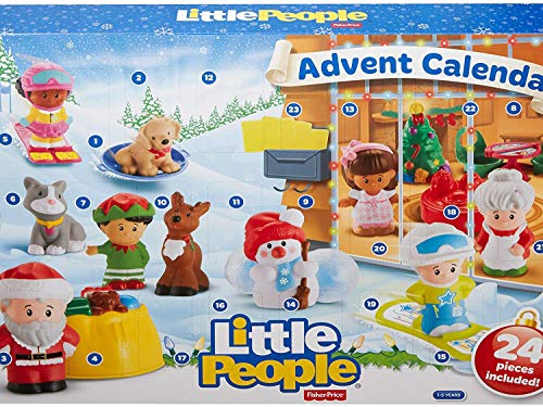 Fisher-Price Little People Advent Calendar (Fisher Price Little People Marvel)