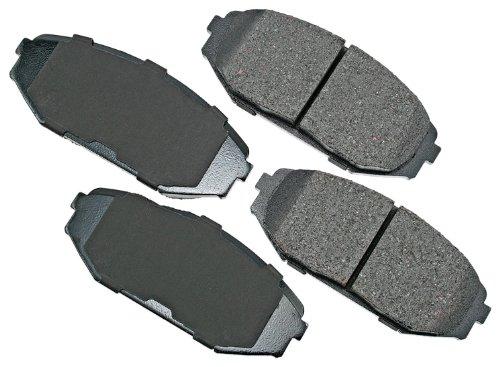 Acura Mdx Brake Pads (Akebono ACT793 ProACT Ultra-Premium Ceramic Brake Pad Set)