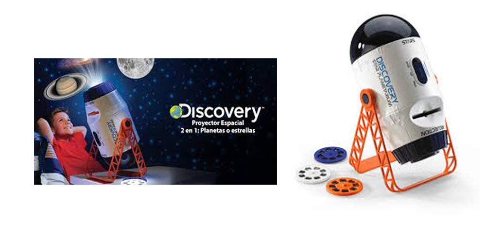 Discovery - Proyector Espacial, Color Blanco (Discovey 6000076)