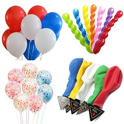 A Pack of 55 Balloons contains 12