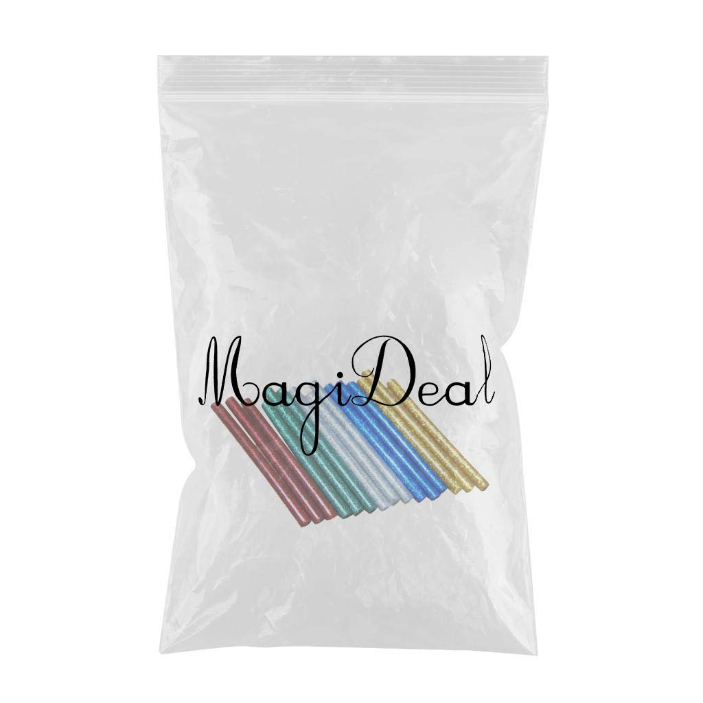 - Green F Fityle 10 Pack 5 Colors Hot Melt Adhesive Gule Stick 6 x 100mm Multi Color Colored 100mm