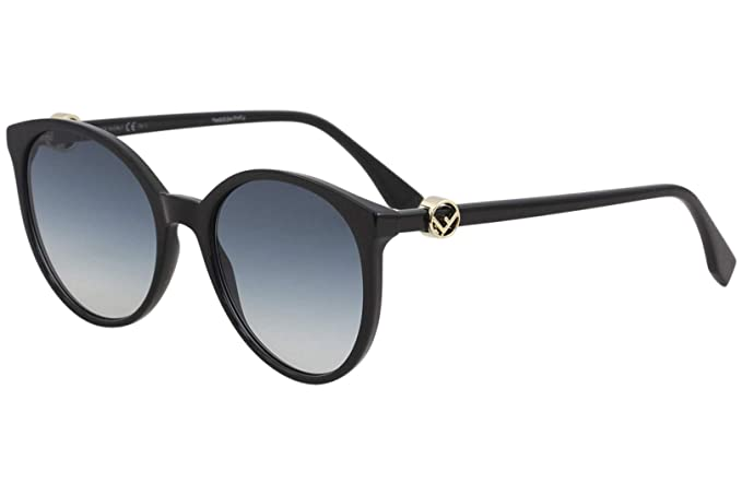 baa8b14efbf5 Fendi F is Fendi Cateye Sunglasses in Black FF 0288 S 807 56 56 Blue ...