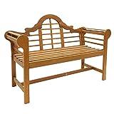 Cheap Achla designs 4-foot lutyen bench