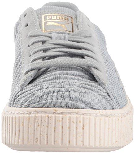 whisper Puma Sneaker Basket Ow Quarry quarry Platform Ankle Women's White high Fashion vq1T7SqUwx