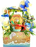 Beachfront Gourmet | Summer Gourmet Gift Basket of Key Lime Cookies and More