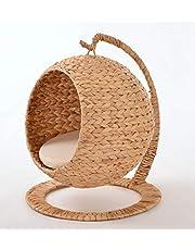 animal-design Hanoi Hangstoel met onderstel waterhyacint kattenhol