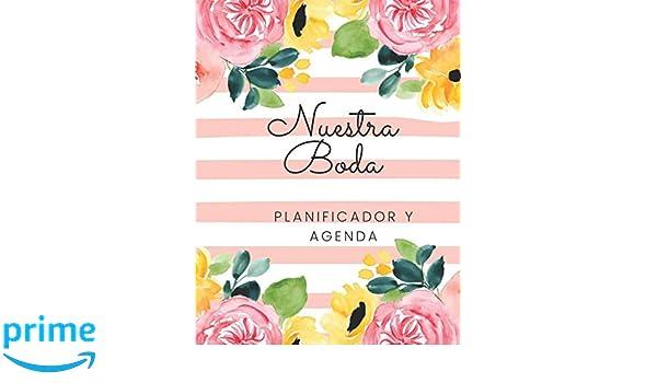 Nuestra Boda Planificador y Agenda: Organizador y Agenda ...