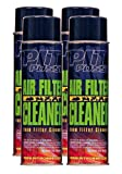 Pit Posse PP3236-4 4 16Oz Cans Of Foam Air Filter Cleaner Motorcycle ATV Dirt Bike Made In USA