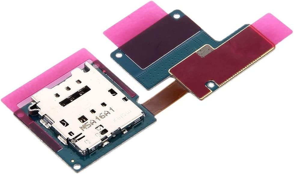 Happyshopping Replacement Micro SD Card Tray for Tab A 10.5 inc Replace//Replacement SIM Card Reader Flex Cable for Galaxy Tab Pro S LTE W700 W707