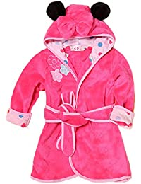 Toddler Baby Boys Girls Cartoon Bathrobe Flannel Robe Winter Night-Robe 892e19526