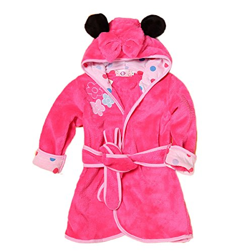 Toddler & Baby Girls Bathrobe Flannel Robe