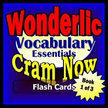 Wonderlic Prep Test VERBAL REVIEW Flash Cards--CRAM NOW!--Wonderlic Exam Review Book & Study Guide (Wonderlic Cram Now! 1)