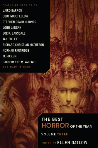 The Best Horror Of The Year Book Series