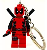 Deadpool Minifigure Keyring