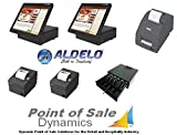 Aldelo Pro Complete Restaurant 2 Station Bundle With Kitchen Printer