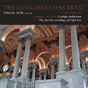 The Coolidge Concerts - Volume III