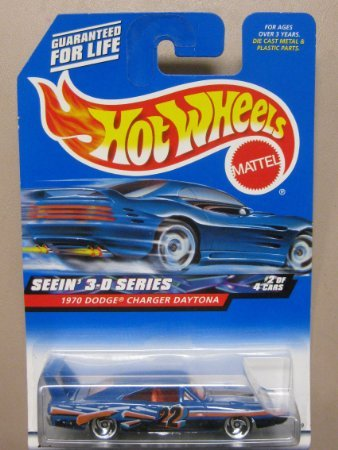 Hotwheels 1970 Dodge Charger Daytona-Seein 3D Series 2000-010 #2 of 4