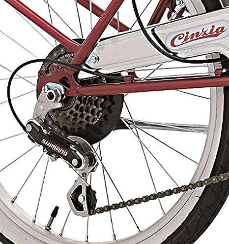 Papilioshop - Cinzia Bicicleta plegable hecha en Italia para transportar en coche, caravana, autocaravana, autobús y otros medios públicos de la ciudad, ...