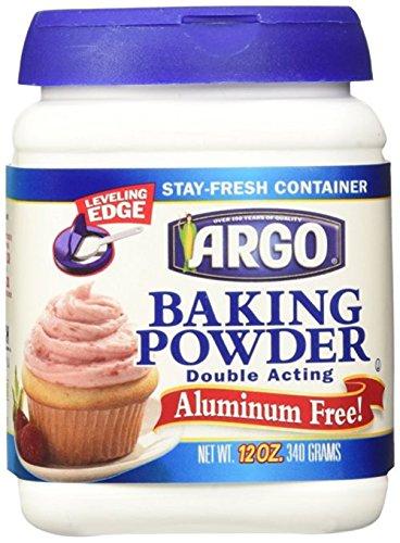 Argo Double Acting Aluminum Free Baking Powder, 12 oz by ARGO (Image #1)
