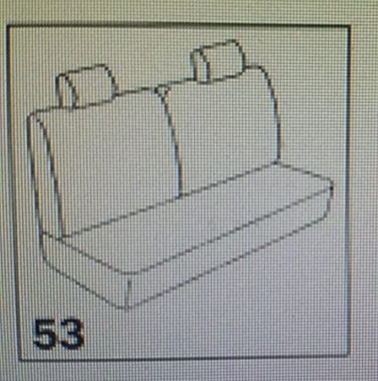 Futter Set Sitzbezug auf Gr/ö/ße komplett f/ür