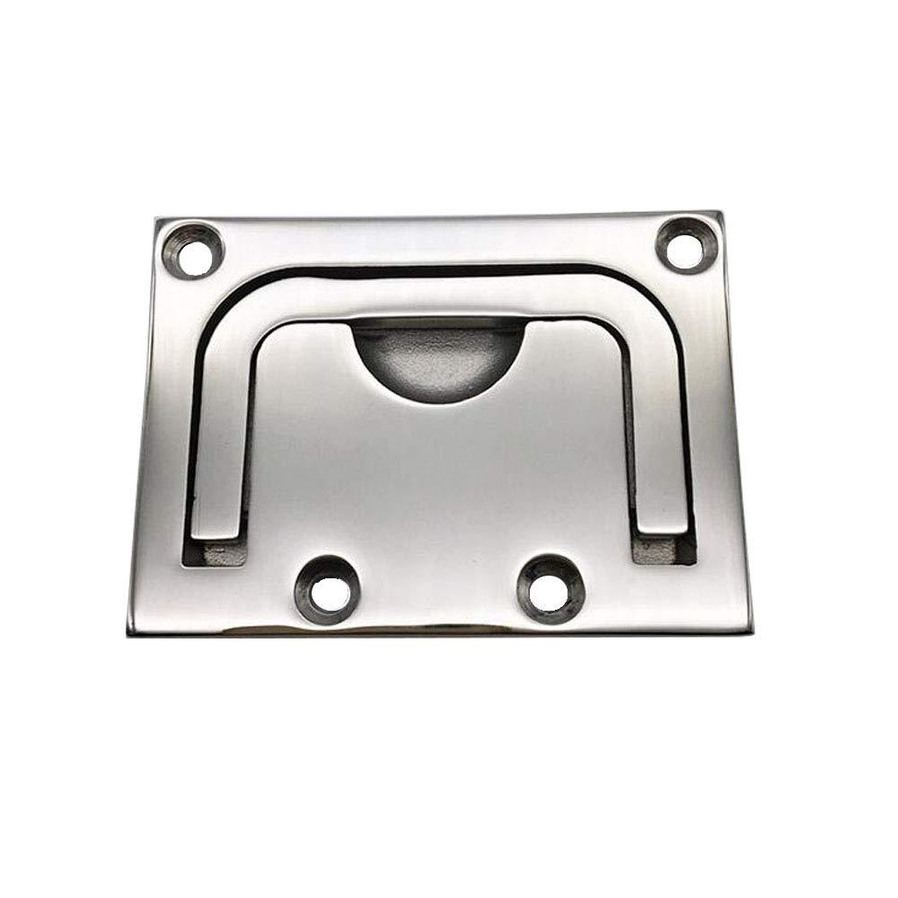 4Pcs 316 Marine Grade Stainless Steel Flush Lift Hatch Ring Boat Hatch Pull
