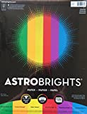 Astrobrights Color Paper, 8.5''x11'', Primary 120 Pages