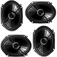Pioneer TS-G6845R 2-Way 6 x 8 or 5 x 7 500W Car Speaker (2 Pairs) 6x8 5x7