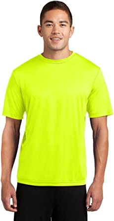 Amazon Com New Mens St350 Sport Tek Dri Fit Workout Running Short Sleeve T Shirt S 4xl Tee Neon Yellow S Clothing Dri fit shirts are also popular among class tees, event tees, and also corporate apparels. new mens st350 sport tek dri fit workout running short sleeve t shirt s 4xl tee neon yellow s