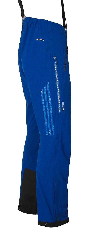 adidas Herren Terrex 3-Lagen Blaueis Hose Skitourenhose