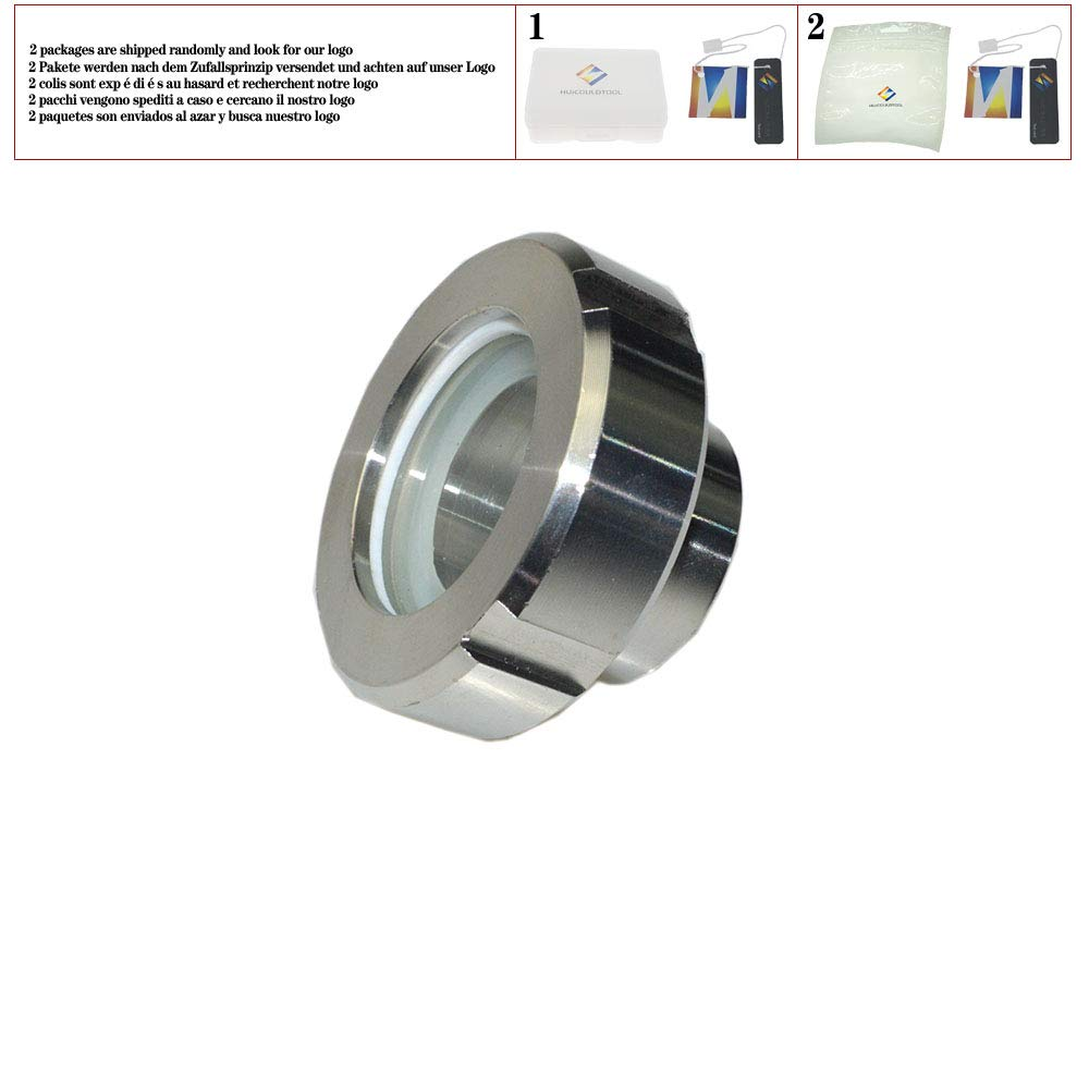 Sanitary Weld Malleable Pipe Fittings Straight Union Coulping Stainless Steel SS304,89mm by huicouldtool