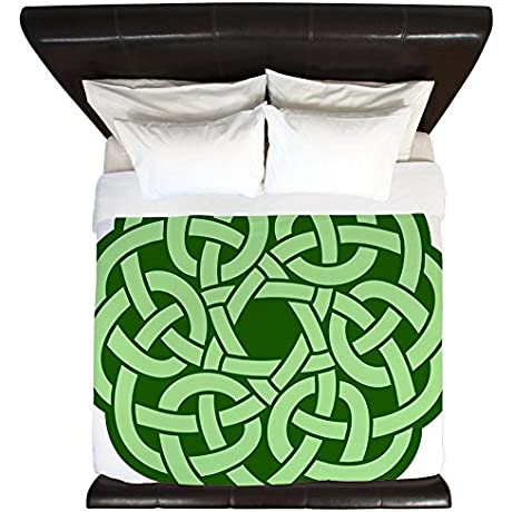 King Duvet Cover Celtic Knot Wreath