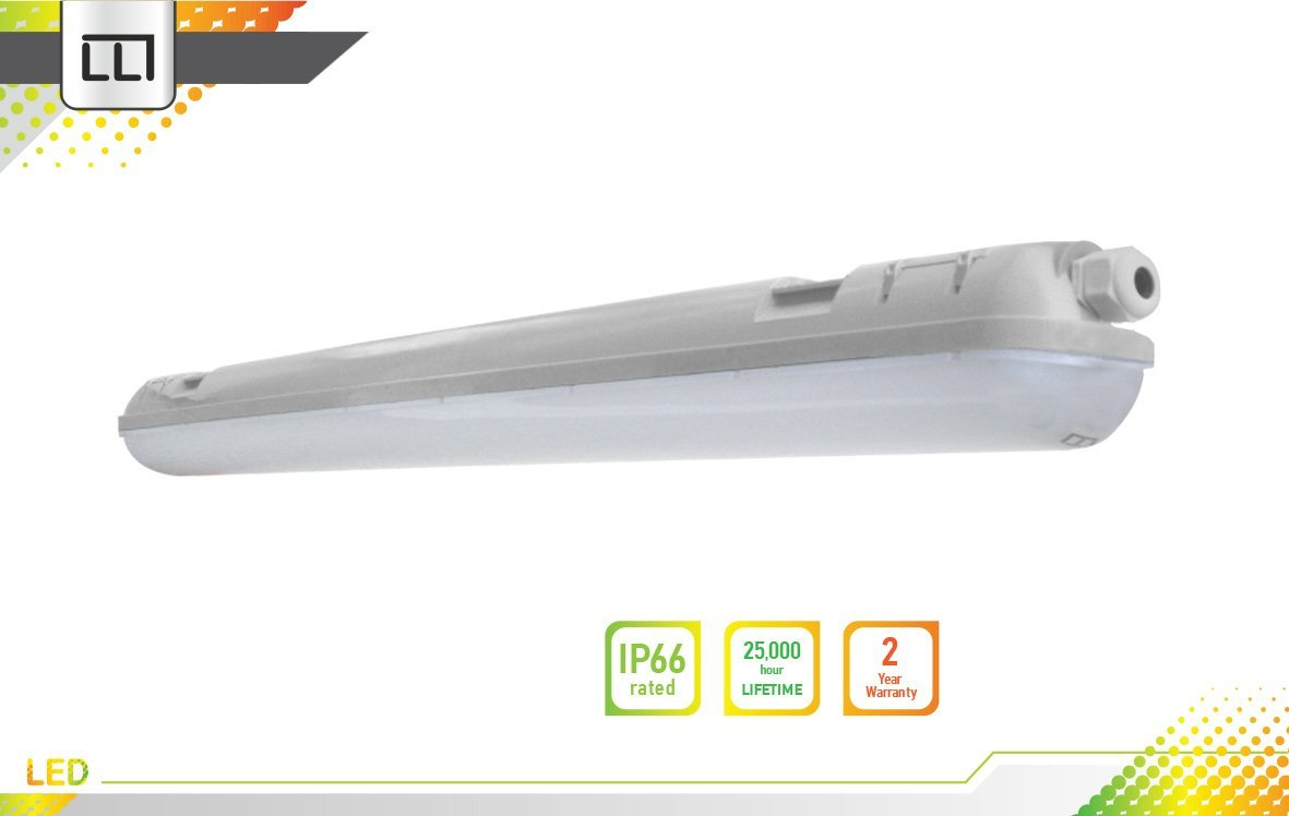 LLT ガレージ用LED証明 防湿 4フィート 36Q IP66 3500K/4000K/5000K 36-pack LVP5M-4N3640 B01BW7HH82  Bright White (4000k) 36-pack