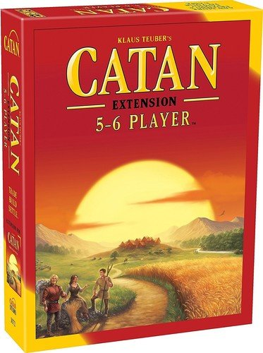 Expansion 6 Player Board Game (Catan: 5-6 Player Extension)