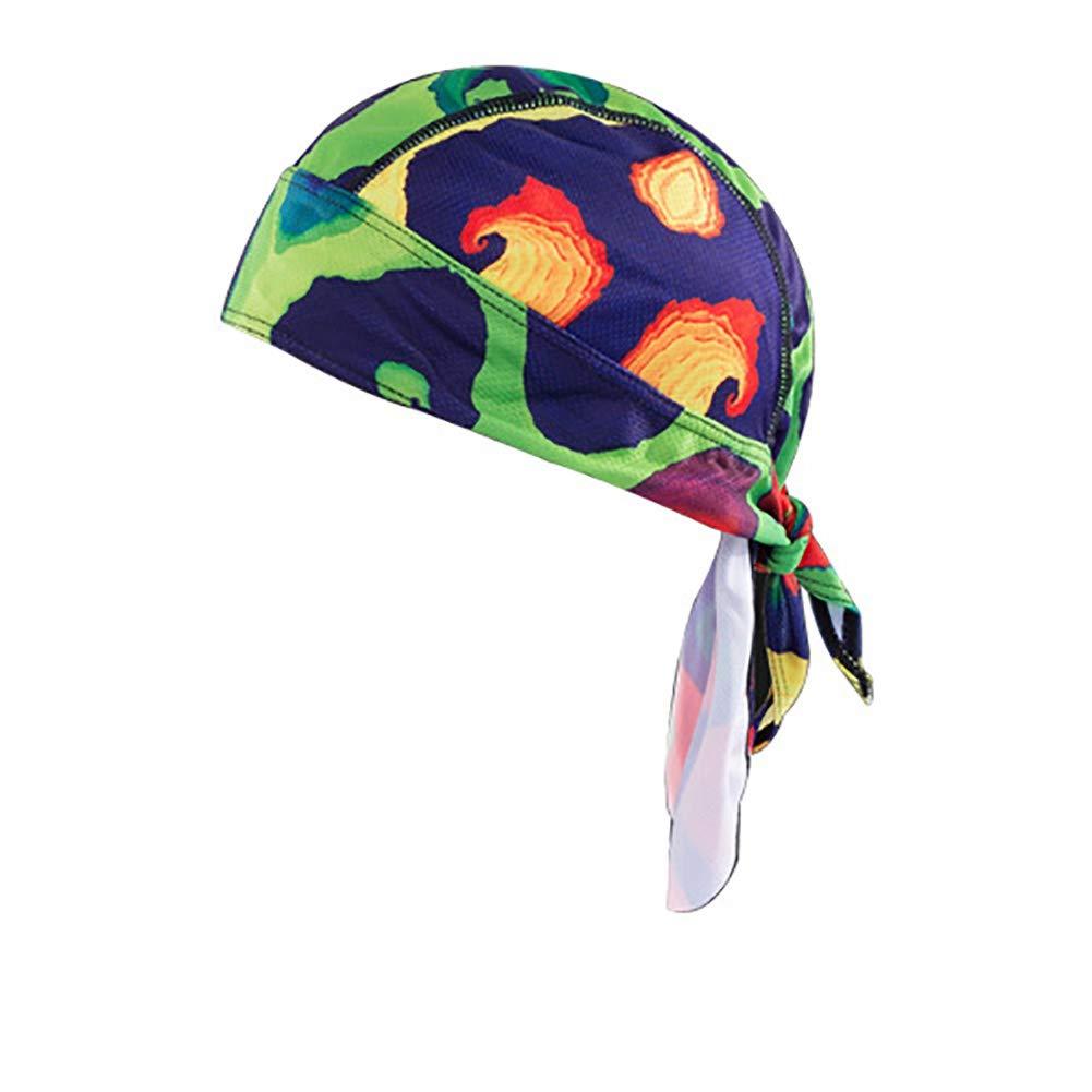 HADM Sweat-Wicking Dew Rag Doo Rags Skull Cap Head Wraps Motorcycle Helmet Liner Bandana Caps for Men
