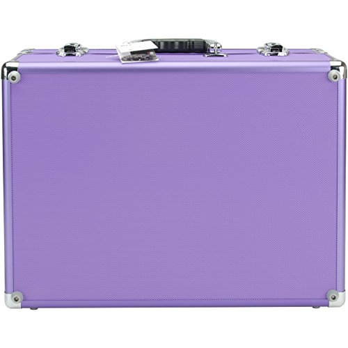 Copic Aluminum Case With Shoulder Strap-Purple](Copic Marker Carrying Case)