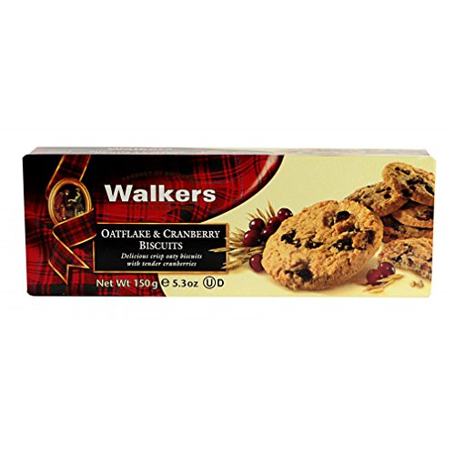 12 x 150 Gram Walkers Oatflake & Cranberry Biscuits