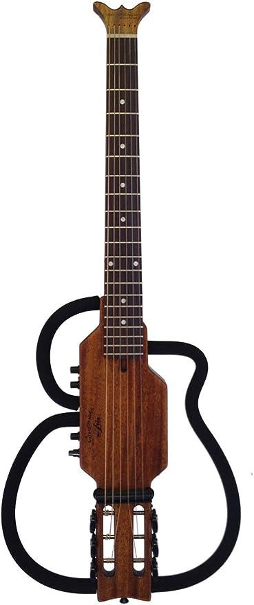 Aria AS-105S-MH Silueta-Diseño Guitarra: Amazon.es: Instrumentos ...