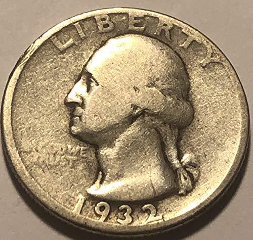 1932 D Silver Washington (KEY DATE) Quarter Choice Fine