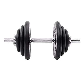 sportstorm gimnasio peso ajustable frorm 6 libras a 44 kg juego de mancuernas de acero: Amazon.es: Deportes y aire libre