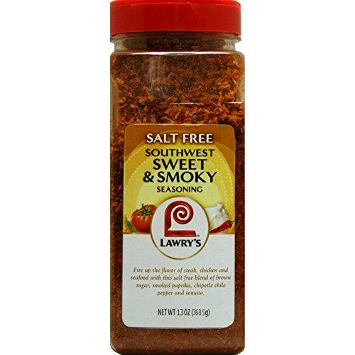 (Lawry's Salt-Free Southwest Sweet & Smoky Seasoning, 13 oz.)