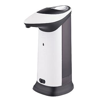 BESTOMZ Dispensador de jabón Acero Inoxidable con Sensor Infrarrojo Integrado para Cocina Baño 420ML: Amazon.es: Hogar