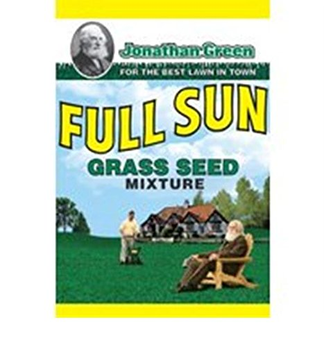 Jonathan Green 10860 Full Sun Grass Seed Mix, 3 (Sunny Grass Seed)