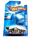 Hot Wheels 2008 All Stars Roll Cage Dark Green and Silver #057/196